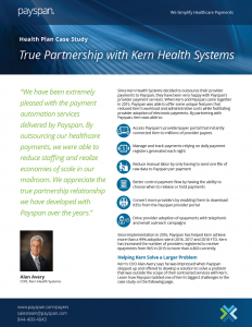 True Partnership with Kern Health Systems